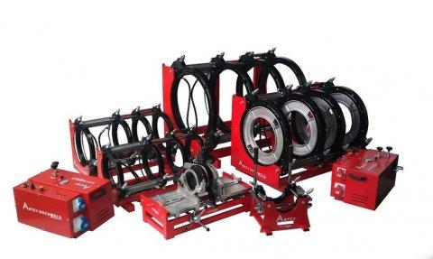 آلات  لحام الانابيب( مواسير)  البولي اتيلين (40mm_1600mm)